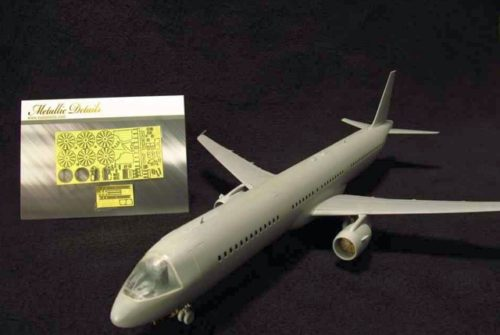 AIRBUS A 321, SADA LEPTŮ PRO MODEL ZVEZDA 1/144, METALLIC DETAILS