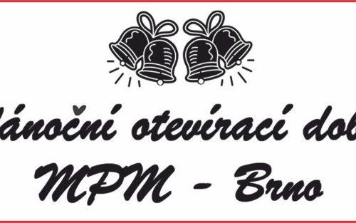 VÁNOCE V MPM BRNO