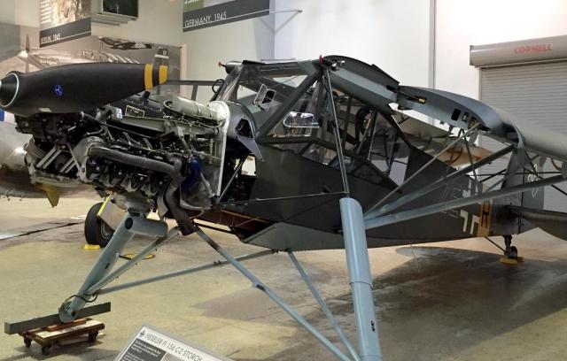 FIESELER FI 156C STORCH WALKAROUND