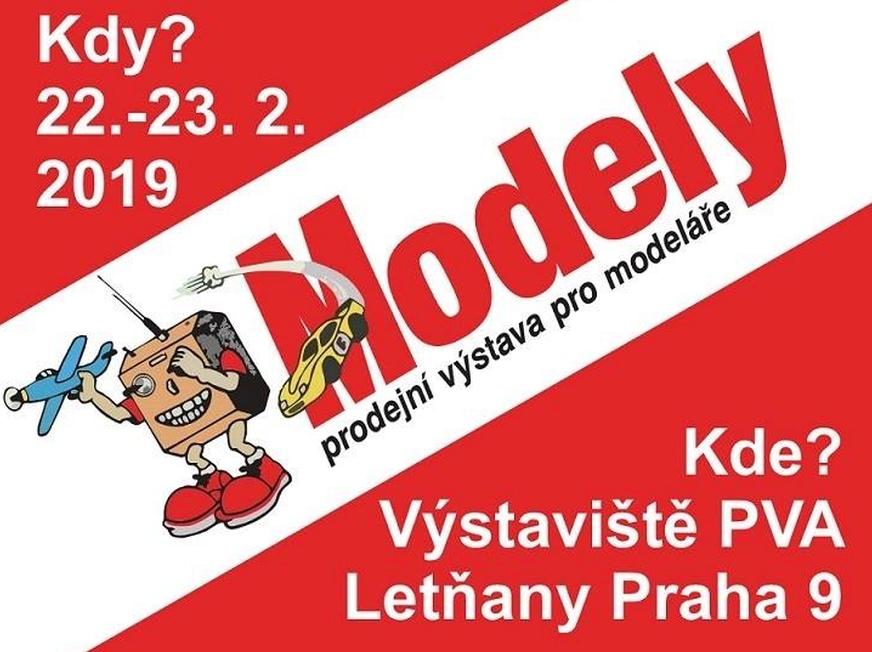 MODELÁŘSKÝ (PRODEJNÍ) VELETRH V LETŇANECH 22. – 23. 2. 2019
