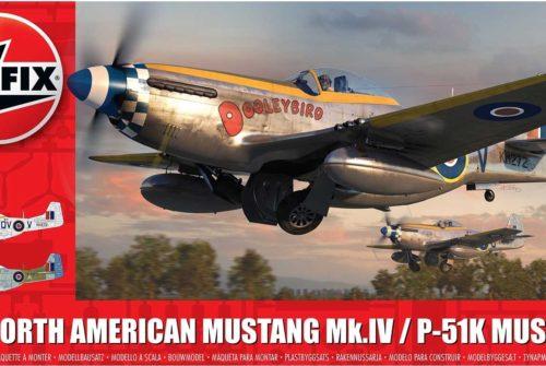 Mustang Mk.IV/P-51K – Airfix 1/48