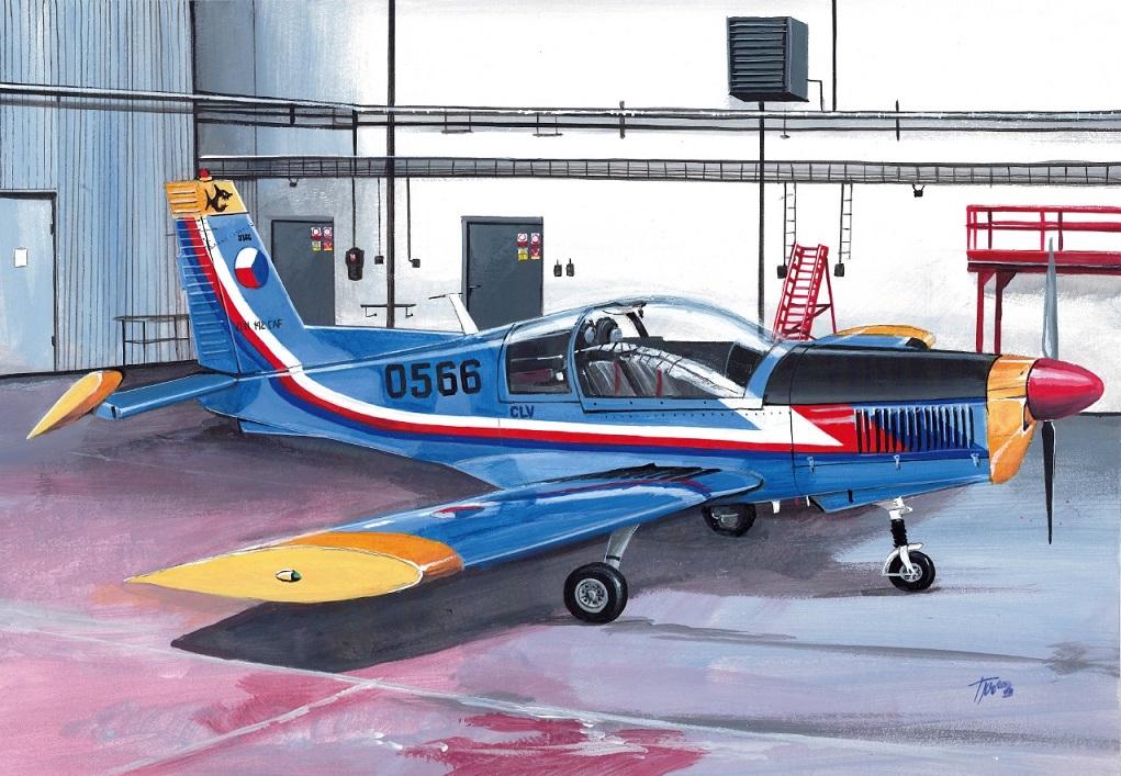 Zlin Z-142 KP – testovací stavba