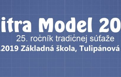 Nitra Model 2019 – 25. ročník tradičnej súťaže