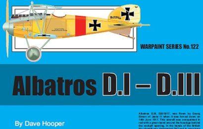 Albatros D. I – D. III, Warpaint books No. 122
