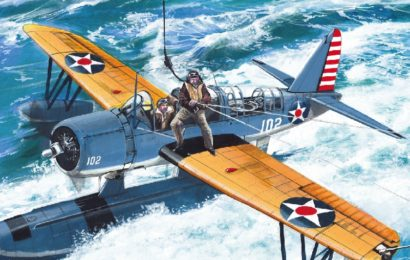 Vought Kingfisher   1/72  AZmodel