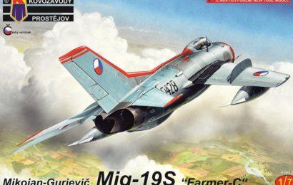 1/72 MiG-19S – Nadzvuková legenda se vrací