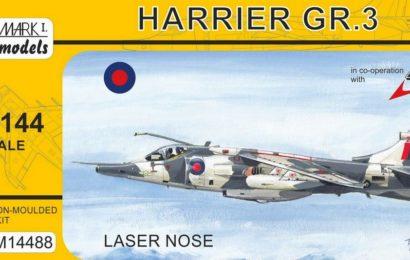 Harrier GR.3 – Mark I. models