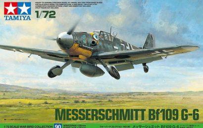 Bf 109G-6 Tamyia 1/72