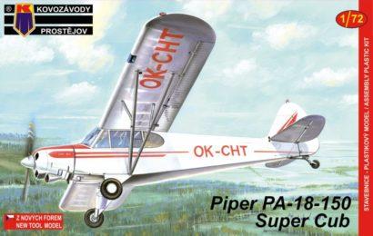 Piper PA-18-150 Super Cub 1/72 KP – Postaveno