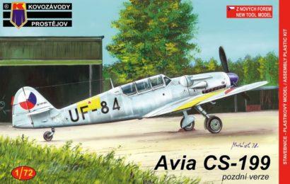 Avia CS-199 1/72 KP – Postaveno