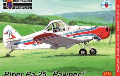 "Pa-25 ""Pawnee"" 1/72 KP – Postaveno"