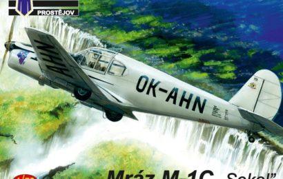 "Mráz M-1C ""Sokol"" 1/72 KP – Postaveno"