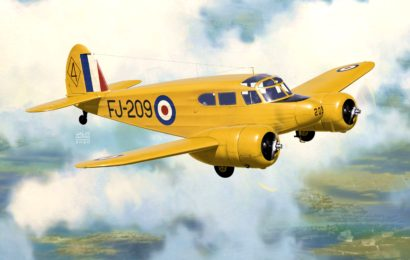 Cessna Bobcat/Crane, KP 1/72 – zkušební stavba