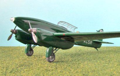 De Havilland DH-88 Comet, KP 1/72, Gabriel Stern