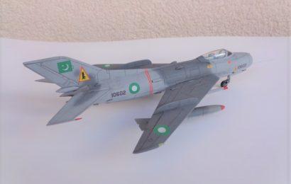 Shengyang F-6C Pákistán 1/72 KP – Postaveno