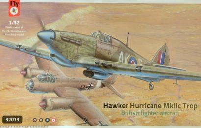 Hawker Hurricane MK.IIc/Trop 1/32 Fly models – Postaveno