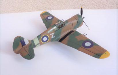 Mohawk Mk.IV RAF 1/72 AZ model – Postaveno