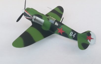 Lavočkin La-5 1/72 KP part 2