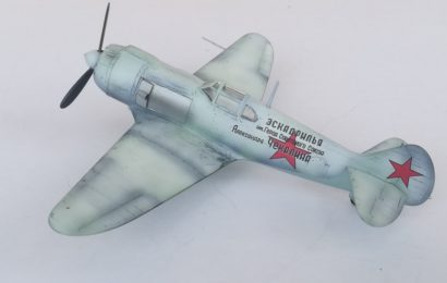 Lavočkin La-5 1/72 KP Part 1