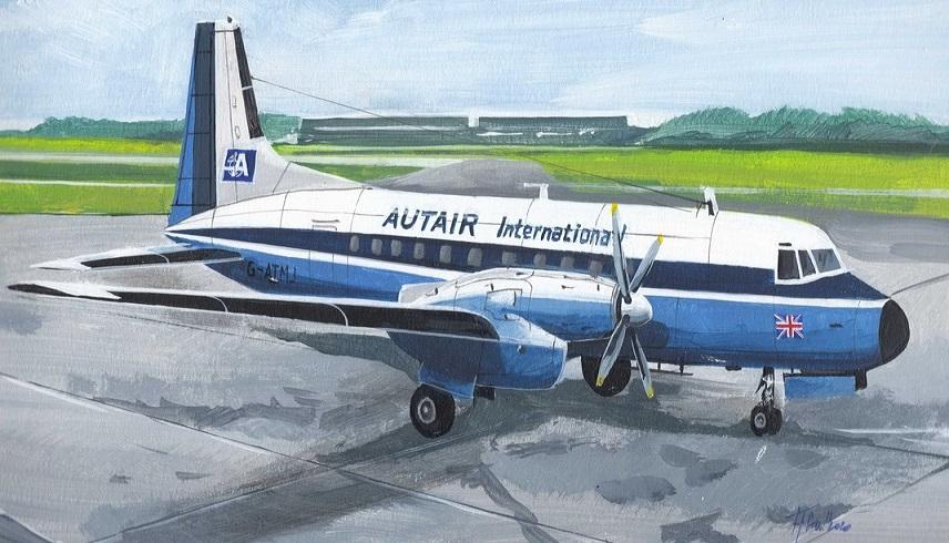 HS.748/BAE.748 MARK.I models – pohled do krabičky