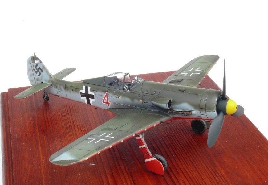Fw-190D-11 1/72 AZ model – od Honzy Pavlíka