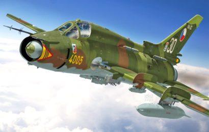 Suchoj Su-22M4 1/72 Kovozávody Prostějov