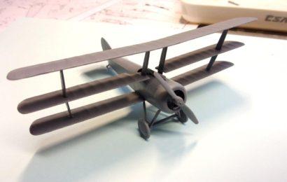 Sopwith Triplane 1/72 KP- Kovozávody Prostějov    Testovací stavba