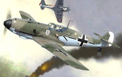 """Messerschmitt Bf 109E  """"Emil""""  AZmodel  1/72"""