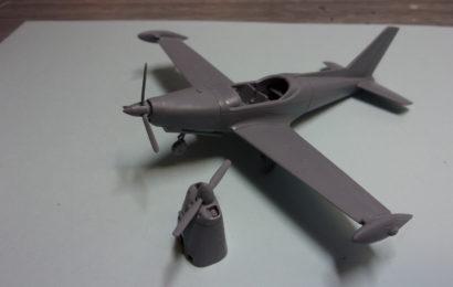 SIAI SF-260  1/72 KP – Kovozávody Prostějov
