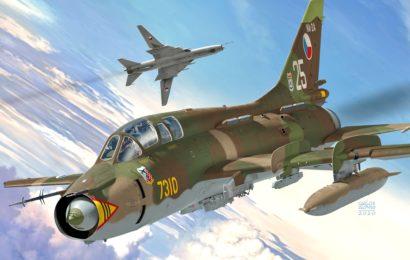 Suchoj Su-22UM3  1/72  KP – Kovozávody Prostějov
