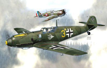 Bf 109E 1/72 AZmodel jde do prodeje