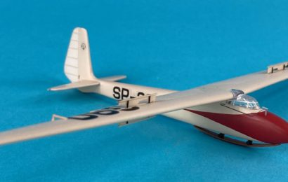 1/72 DFS Olympia AZ model – postavil Konrad