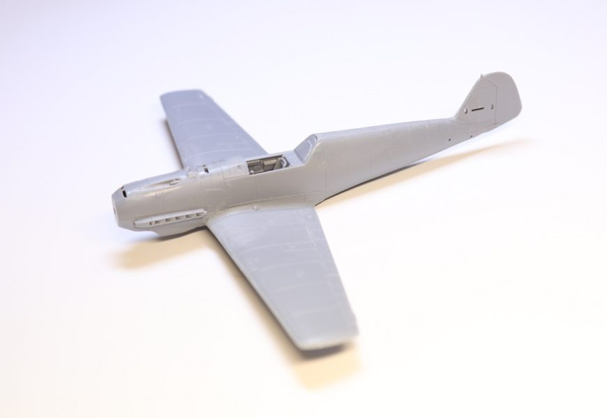 1/72 Bf-109E-3 a E-7/trop AZ model – stavba z krabičky part I.