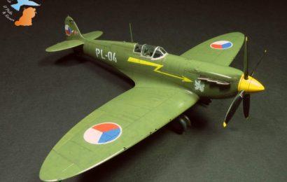 Studiový Spitfiry Mk.I od Eduardu 1/48 – aneb všechno bylo jinak?