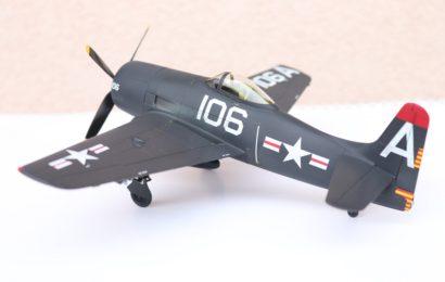 1/48 F8F-1 Bearcat Academy – stavba pro kamaráda