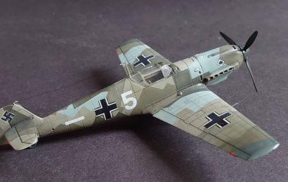 Bf 109E-3 AZmodel