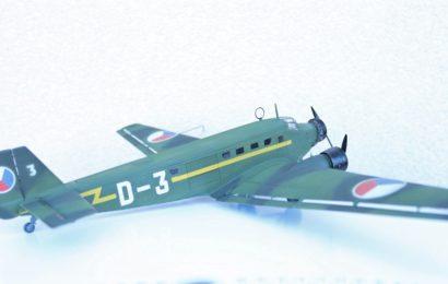 1/72 Junkers Ju-52(D-52) v čs. barvách