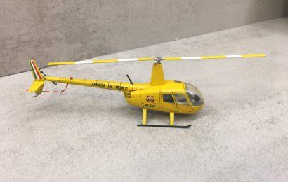 1/72 Robinson R-44 Raven II. od KP- postaveno od Cliva