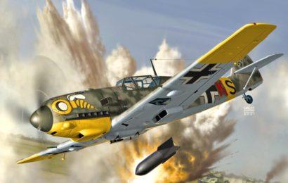 Messerschmitt Bf 109E  1/72 AZmodel