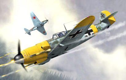 Messerschmitt Bf 109F  1/72    AZmodel