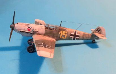 Bf-109E-3 AZ model 1/72 – Postaveno od Laca