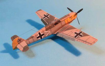 Bf 109E-4; Airfix 1/72 – postaveno od Laca