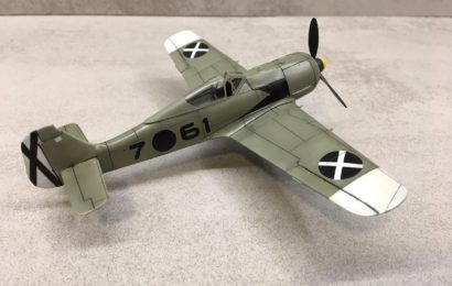 "1/72 Fw-190A-3 AZ model ""What-If"" – od Cliva"