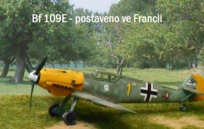 Bf 109E postavené ve Francii