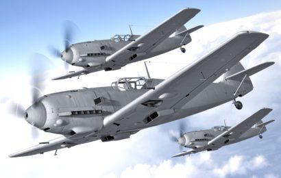 Messerschmitt Bf 109E-3/4/7  1/72 AZmodel    Joypack