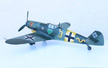 1/48 Bf-109G-2 JG54 Academy(exHobbycraft) – postaveno od Speedyho