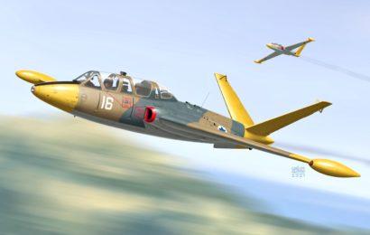 Fouga CM-170 Magister 1/72 KP- Kovozávody Prostějov