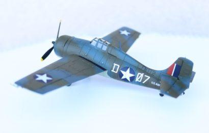 1/72 Grumman Martlet Mk.IV Airfix – postaveno od Speedyho