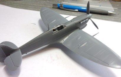 Supermarine Seafire Mk.Ib  1/72 KP- Kovozávody Prostějov