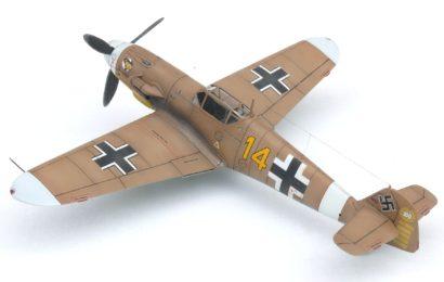 Bf 109 F-4. H.J. Marseille, AZmodel 1/72